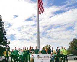 Urban Forest Pro Volunteers at Saluting Branches Event